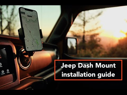 Jeep Dash Mount Installation Guide