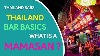 Thailand Bar Basics - What is a Mamasan?