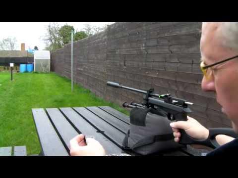 SMK CP2 Air Rifle test Mod 15 Metres 17:04:2018