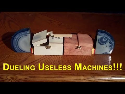 Dueling Useless Machines!!! (AKA Political Machines)