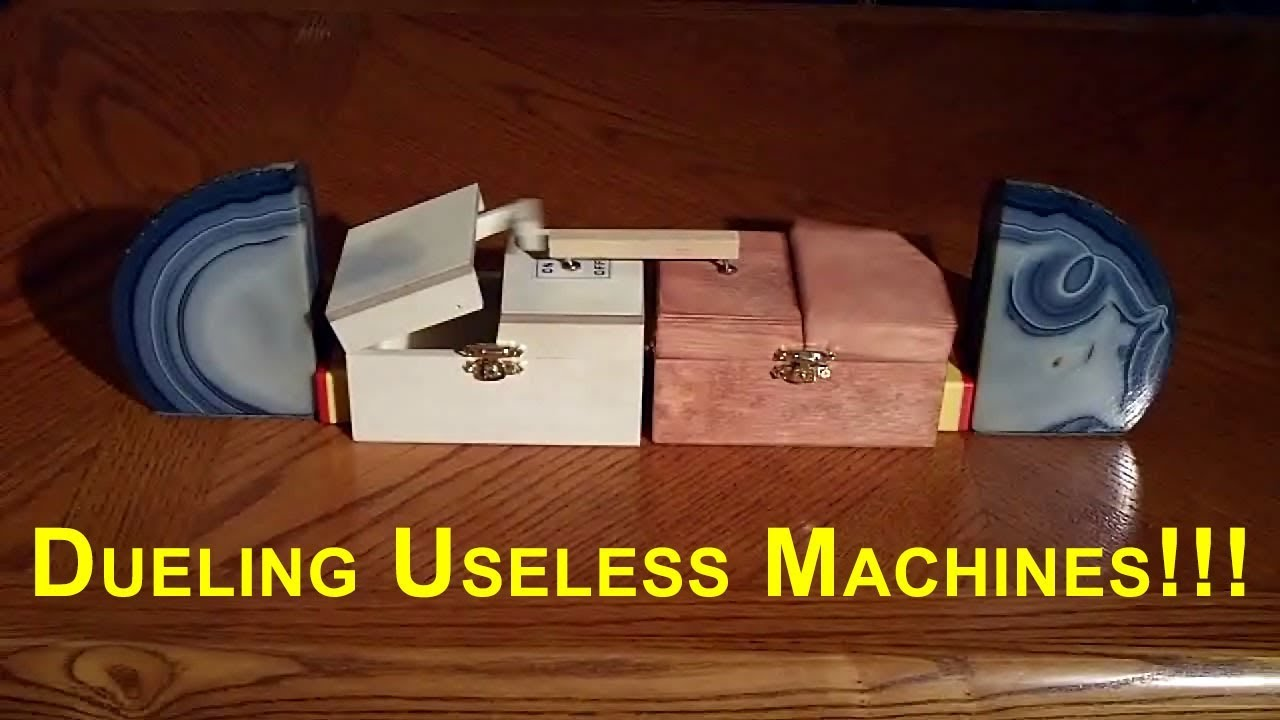 Useless Box Bausatz : dueling useless machines aka political machines youtube ~ Watch28wear.com Haus und Dekorationen