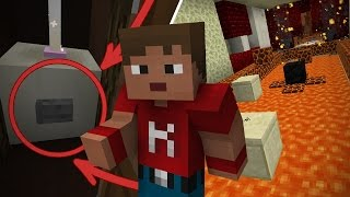 Dansk Minecraft: FIND KNAPPEN PARKOUR!