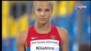 Darya Klishina Дарья Клишина - Универсиада 2013