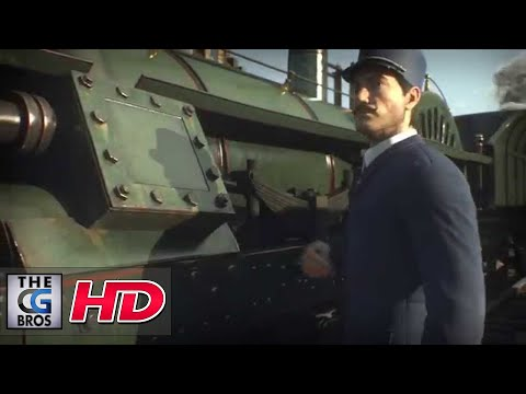 """CGI Animated Trailers HD: """"Train Station"""" - by Puppetworks Animation Studio"""