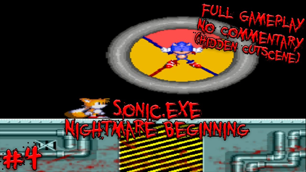 Sonic Exe Gameplay No Commentary | Games World
