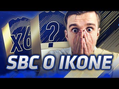 TRAFIŁEM IKONĘ !!! PACZKI Z IN FORMAMI & 100k !!! FIFA 18 ULTIMATE TEAM SBC !