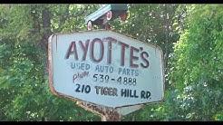 Exploring Ayottes Junkyard | Oxford Maine
