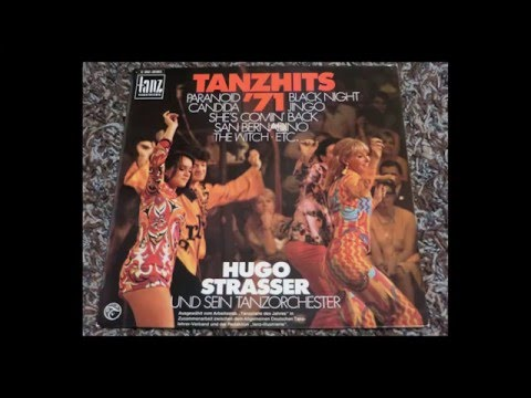Hugo Strasser & His Orchestra - Tanzhits '71 - A4 Paranoid