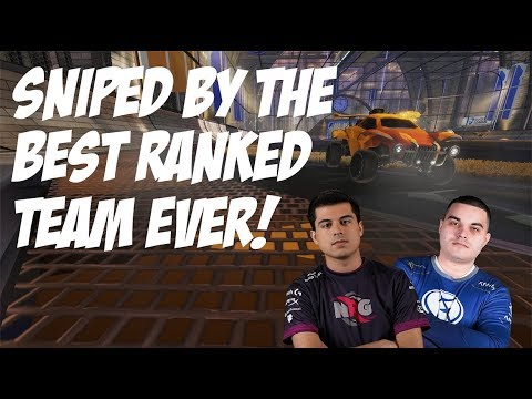 SNIPED BY THE BEST RANKED TEAM EVER! / RANKED WITH FIREBURNER AND CHROME