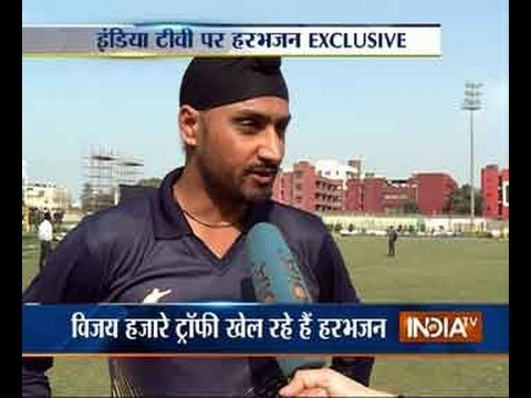 Watch Harbhajan Singh Exclusive Interview With India TV