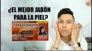 JABÓN QUE ACLARA TÚ PIEL EN SEGUNDOS FUNCIONA? JABON DE TEPEZCOHUITE