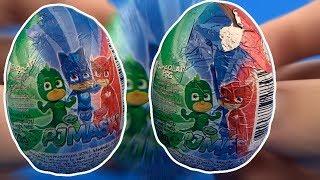 PJ Masks Surprise Eggs Opening ENG PJ Masks Toys for Kids #207