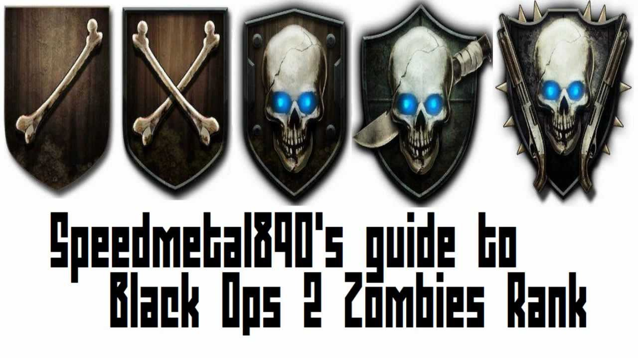 How To Rank Up In Black Ops 2 Zombies Easy Knife Emblem Youtube