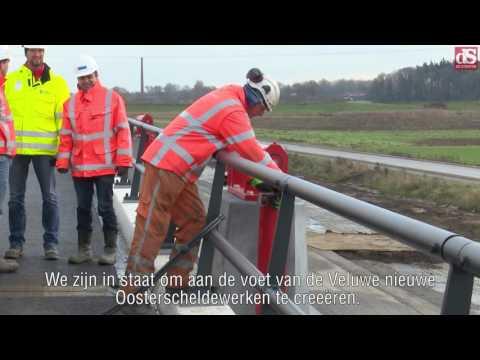 Hoogwatergeul bij Veessen geslaagd voor generale repetitie