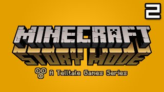 Minecraft Story Mode Let's Play: Episode 1 Part 2 - DEAL GONE WRONG