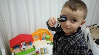 Yusuf miraçın akülü arabasını inceliyoruz