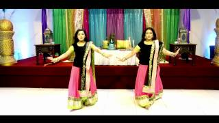 Aidhan Films, - Amazing Mehndi Dance Performance - Bride Entrance
