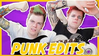 PUNK EDITS IN REAL LIFE | NikiNSammy