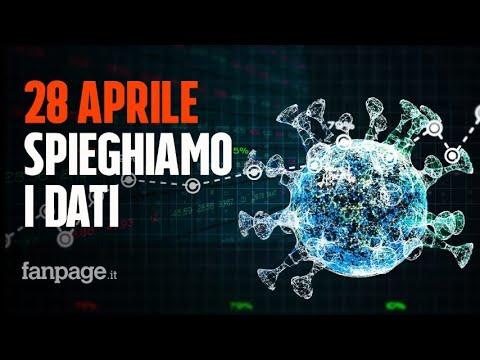 Coronavirus Italia, il bollettino del 28 Aprile: dati leggermente peggio di ieri, ma comunque buoni
