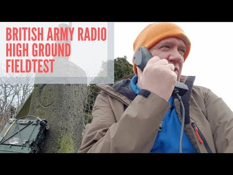 Can I Get A First Contact On The Army Radio The Clansman PRC-352?