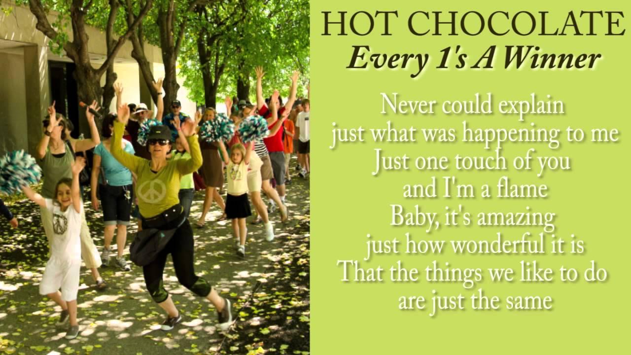 Hot Chocolate Winner Lyrics