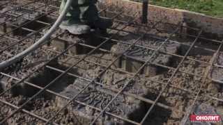 Монолитная плита перекрытия. Облегченная плита. Geoplast Nautilus.