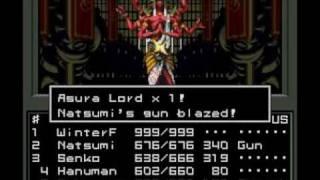 Shin Megami Tensei - Asura Lord  (Ashura-oh / Asurinda) Battle