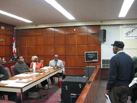 MVI 2319 - East Cleveland Ohio City Council Meeting - 1/17/2017