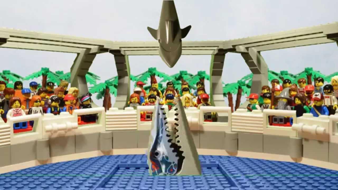 LEGO Jurassic World Attractions   YouTube