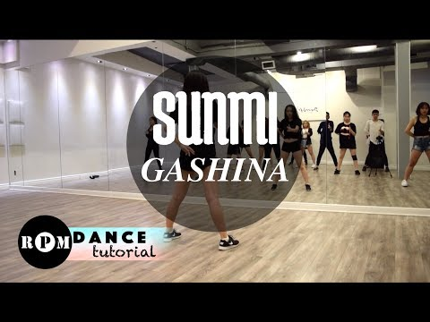 "Sunmi ""Gashina"" Dance Tutorial (Prechorus, Chorus)"