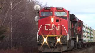 another meet via 14 and cn 407 at painsec jct moncton nb nov 20 2017