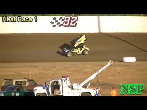 July 22, 2017 360 Sprints Heat Race 1 Grays Harbor Raceway