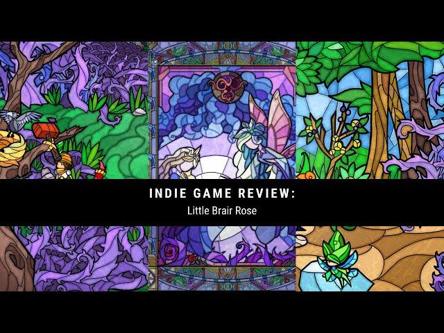 Indie Game Review: Little Briar Rose Welcome to the stained glass world!