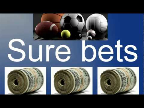 sports betting: all you need to know about sure bets /arbitrage bets