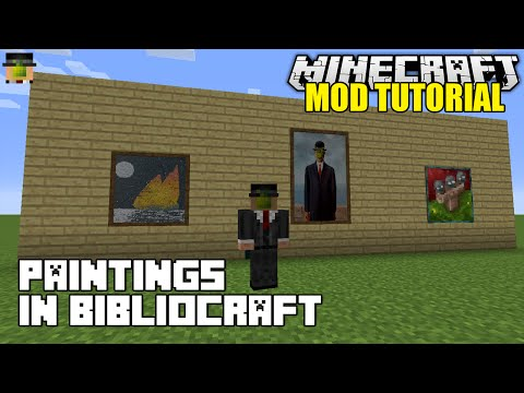 how to get custom paintings into minecraft