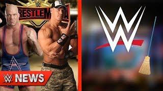 Kurt Angle vs John Cena at WrestleMania?! WWE Releasing Wrestlers In May?! | WWE News Ep. 232