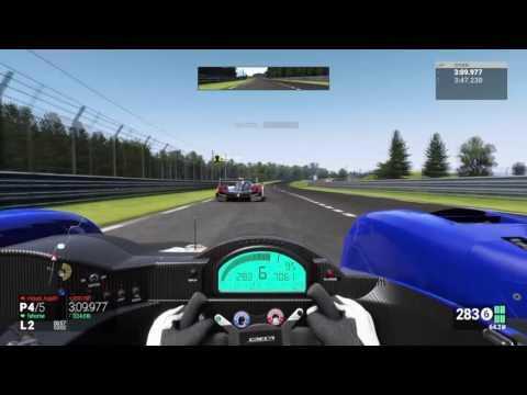 Project Cars PS4 - LMP2@ Le Mans