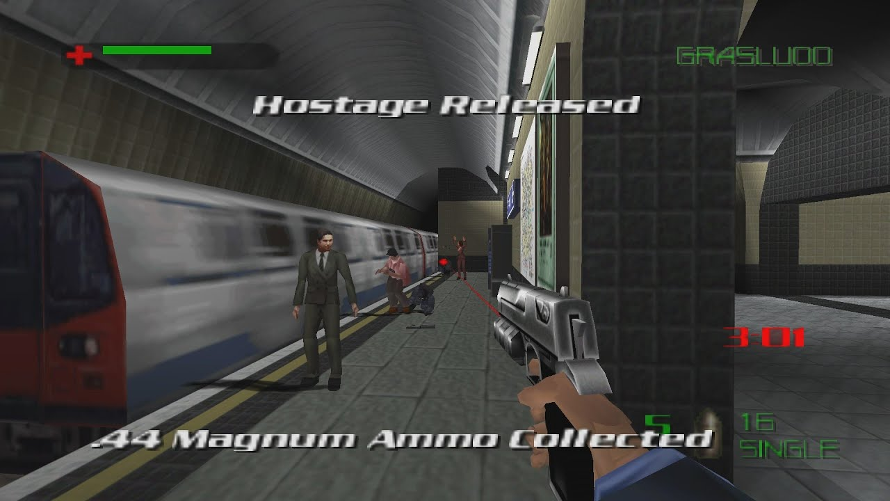 007 The World Is Not Enough N64 Underground Uprising 00