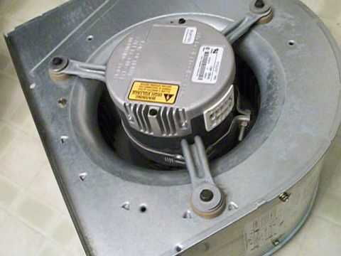 Hvac Bad Carrier Ecm Blower Motor Youtube