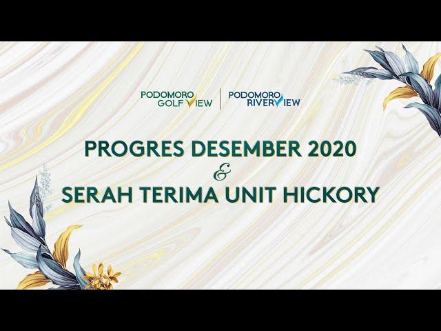 PROGRES PODOMORO GOLF VIEW DESEMBER 2020
