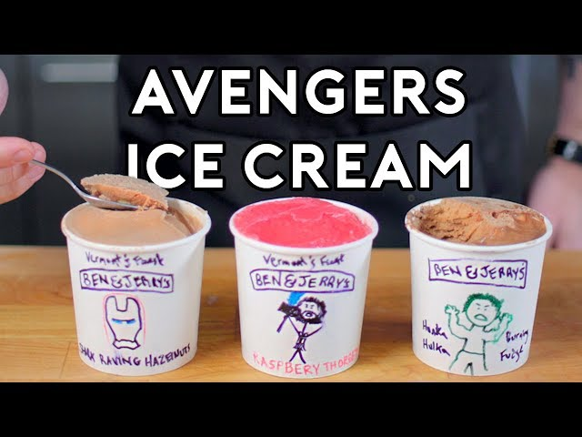 Binging with Babish: Ice Cream Flavors from Avengers: Infinity War