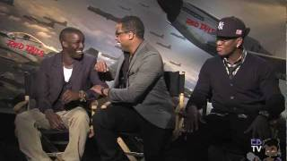 Eb the Celeb interviews the cast of Red Tails