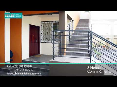 2 Bedroom Semi-furnished Apartment - For Rent - 3 Henna Close ( Tema, Ghana)