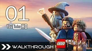 Lego The Hobbit Video Game Walkthrough Gameplay - Part 1 (Bilbo Baggins) HD 1080p No Commentary