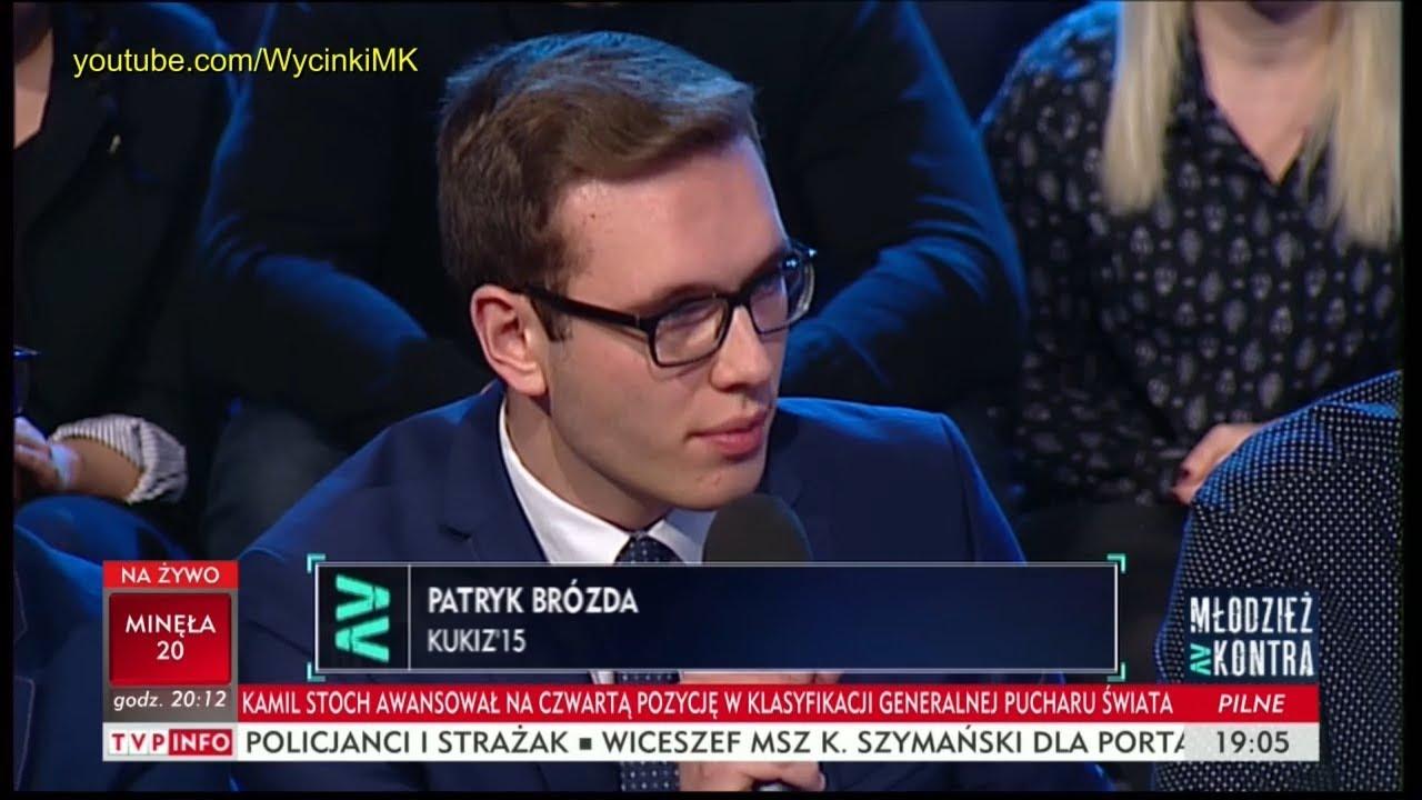 Młodzież kontra 622: Patryk Brózda (Kukiz'15) vs Kornel Morawiecki (WiS) 16.12.2017
