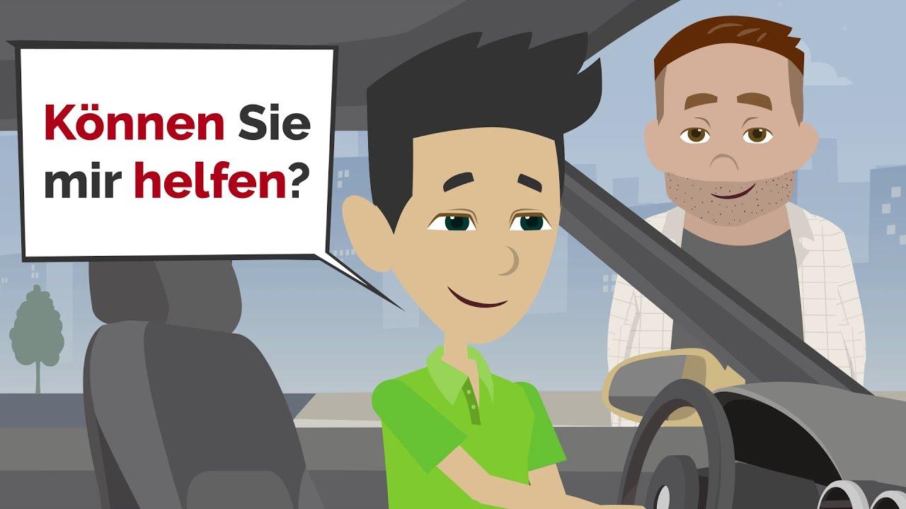 Deutsch lernen | Satzstellung Modalverben