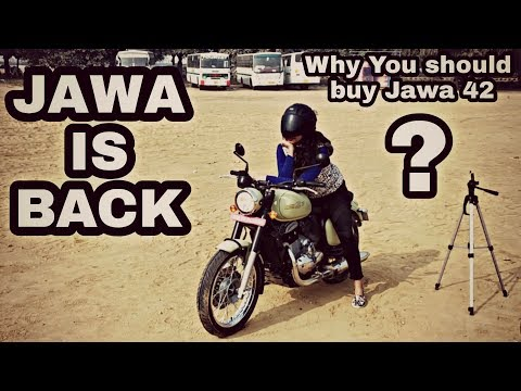 JAWA IS BACK | Honest Review And Test Ride Of JAWA FORTY TWO In Delhi NCR Gurgaon | Engineer Singh