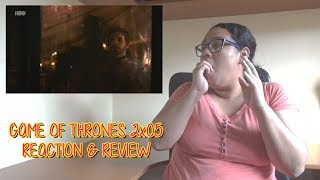 """Game of Thrones 2x05 REACTION & REVIEW """"The Ghost of Harrenhal"""" S02E05 