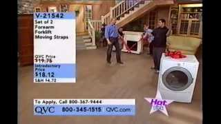 Forearm Forklift Lifting Straps on QVC Television (shopping channel)