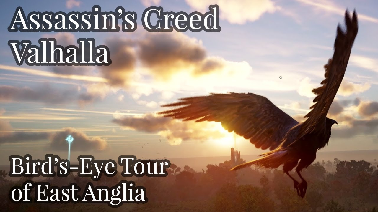 Assassin S Creed Valhalla Bird S Eye Tour Of East Anglia Youtube